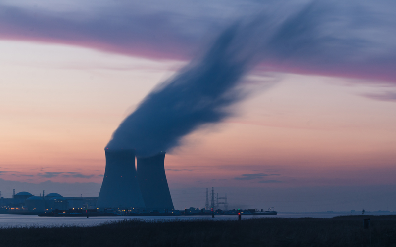 Doel Nuclear Power Station in Belgium. Photo by Frédéric Paulussen on Unsplash