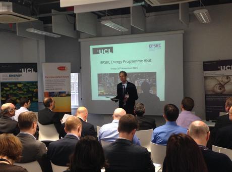 Bob Lowe opens EPSRC visit