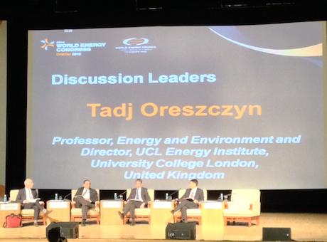 UCL-Energy professors attend World Energy Congress 2013 in Korea