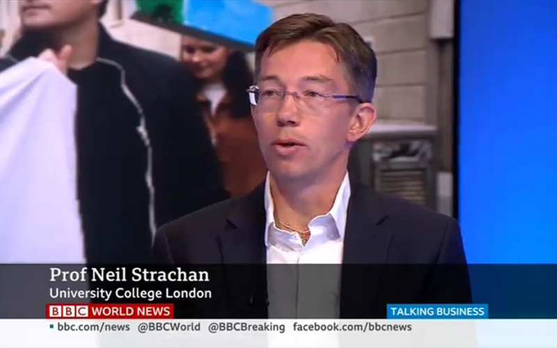 Neil Strachan on BBC World about climate protests_20 Sept 2019