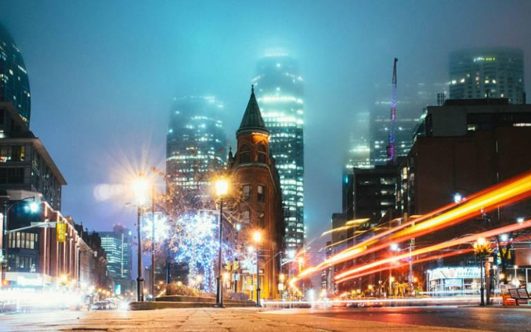 Toronto at night - Photo by Daniel Novykov on Unsplash