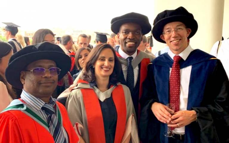2019 Graduation ceremony UCL Energy