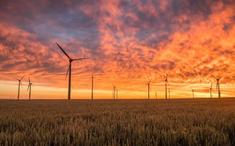 Wind turbines at sunset - Photo by Karsten Würth (@inf1783) on Unsplash