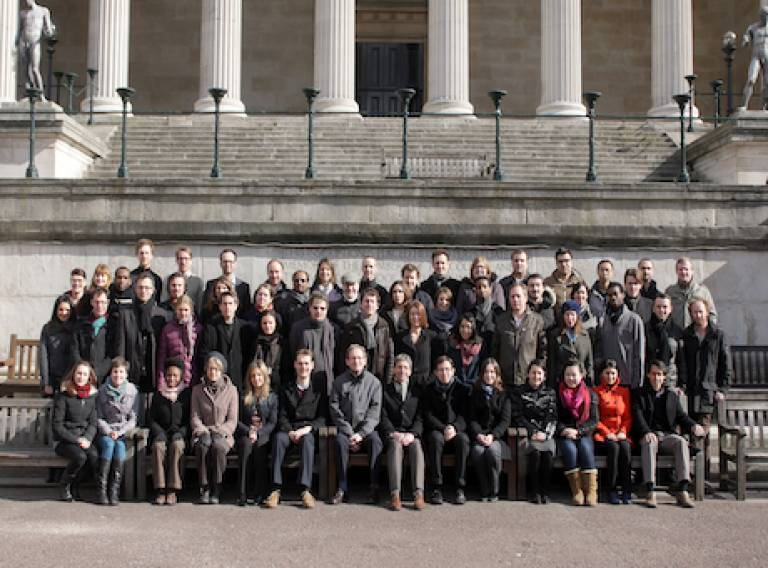 All UCL-Energy staff and students 2013