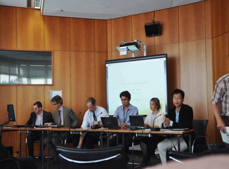 Nagore Sabio at UNFCCC