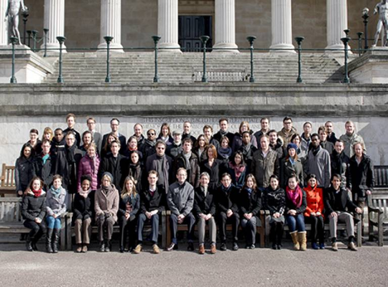 UCL-Energy staff and students 2013