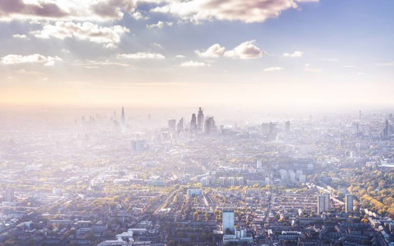 Aerial view of London - Photo by Tim Easley on Unsplash