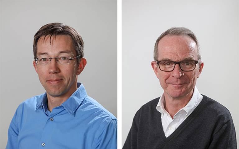 Neil Strachan and Paul Ruyssevelt