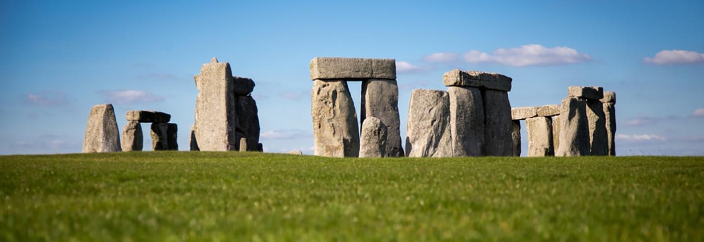 Stonehenge in spring