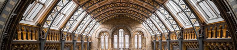 Interior of a historic building