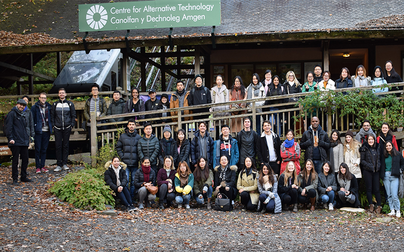 Environment Design And Engineering Msc Students Visit Wales Ucl Institute For Environmental Design And Engineering Ucl University College London
