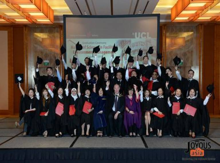 MSc FEM Singapore Graduation Ceremony