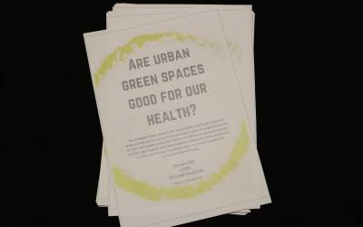 CUSSH Are urban green spaces good for our health?