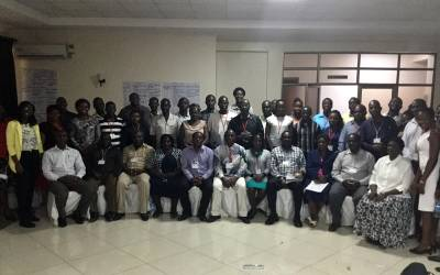 Workshop participants in Kisumu County, Kenya