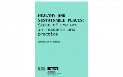 Health places symposium findings cover