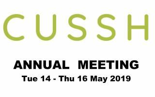 CUSSH Annual Meeting
