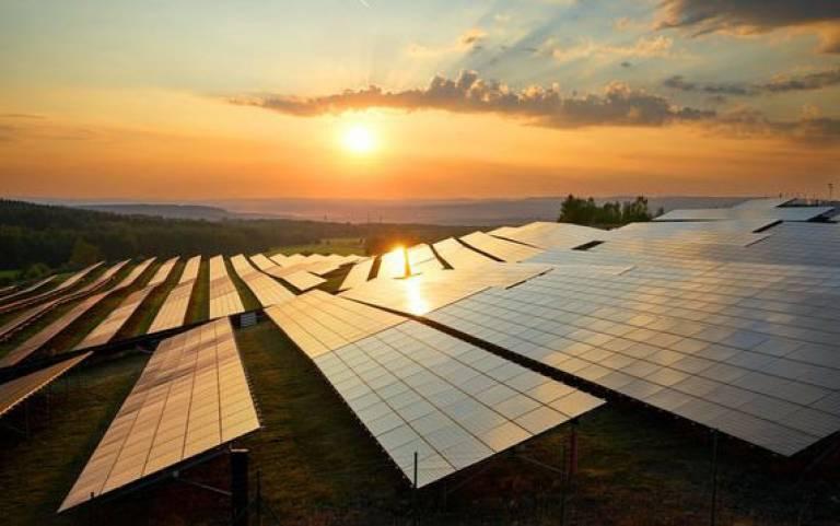 Solar Panels Sun