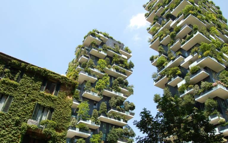 Green high-rise buildings