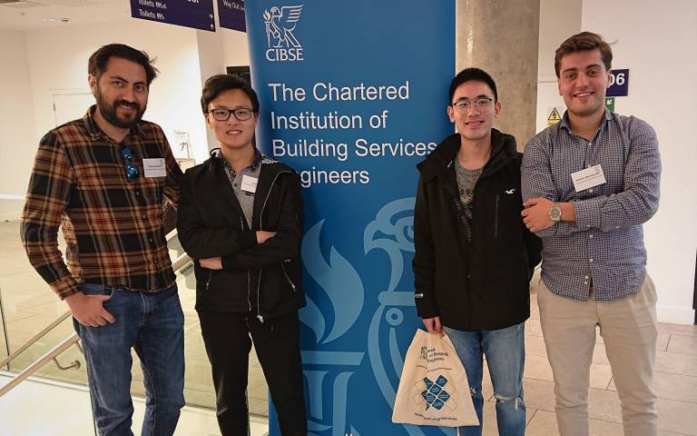CIBSE Conference Smart Buildings students