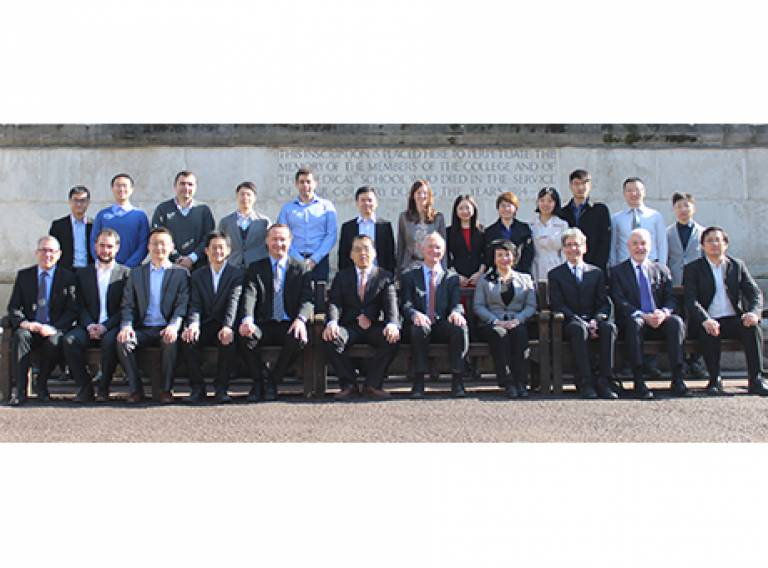 Researchers from Tsinghua and UCL involved in the TOP project