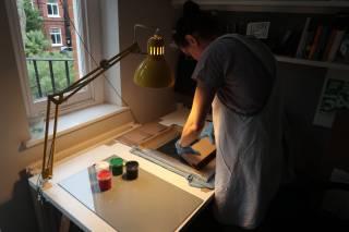 printing process of T-shirt