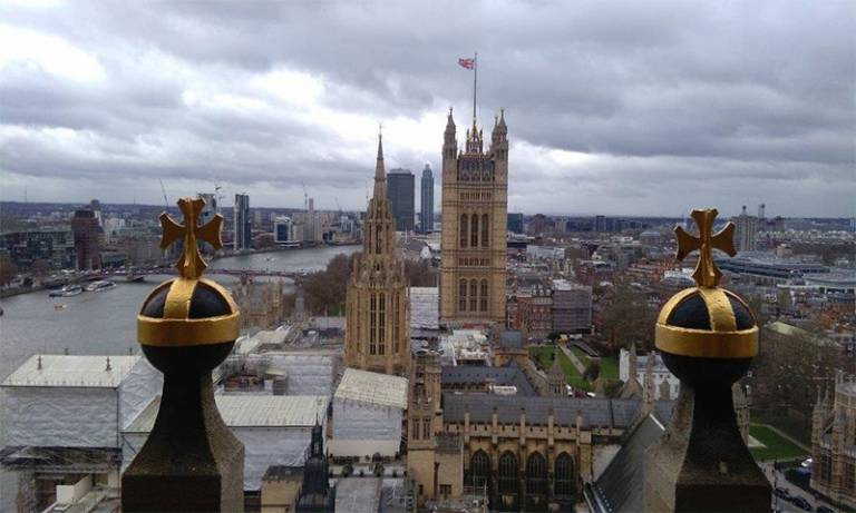 Westminster from the Queen Elizabeth Tower. Credit: Henry Owen-John
