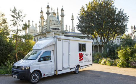 Our mobile heritage lab on a research and outreach visit
