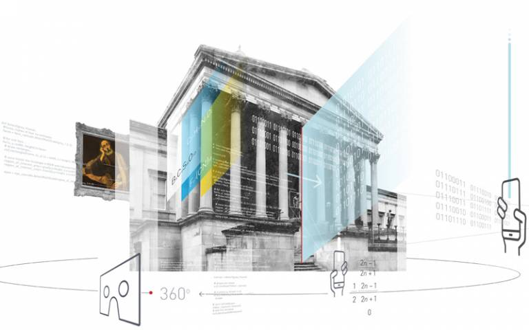 Illustration of DSCH programme - UCL main portico