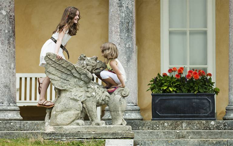 ©National Trust Images: 'Children playing in National Trust garden'