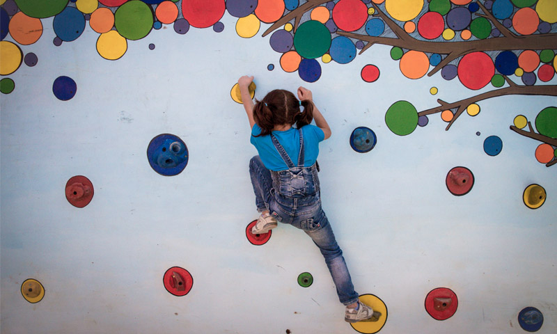 Child climbing image, courtesy of CatalyticAction
