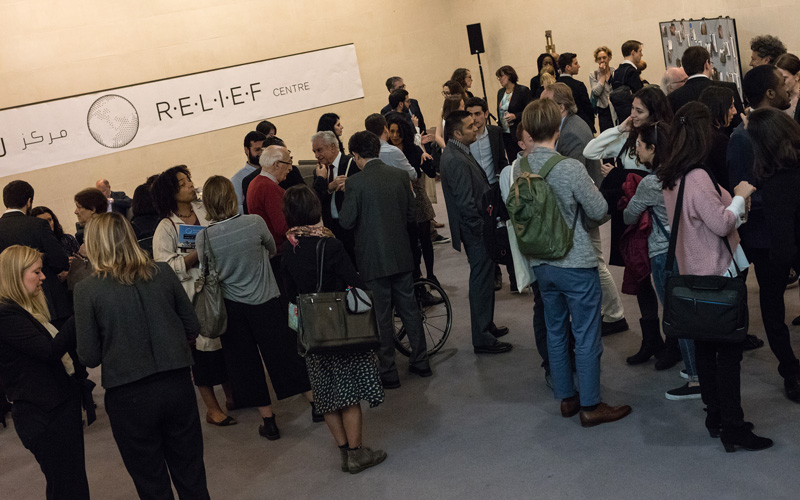 The RELIEF Centre launch event at The British Museum