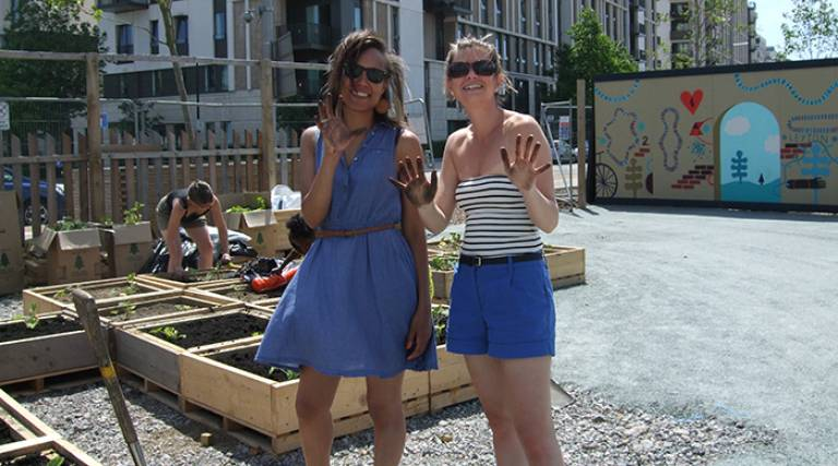 Community Gardening, Social Networks and Wellbeing