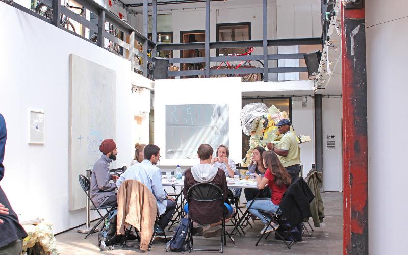 Citizen Scientists in a workshop