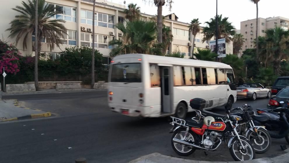 Informal bus in Beirut