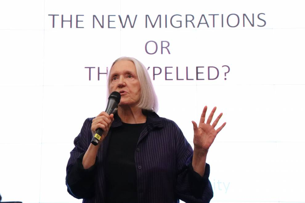 Saskia Sassen Lecture on Migration