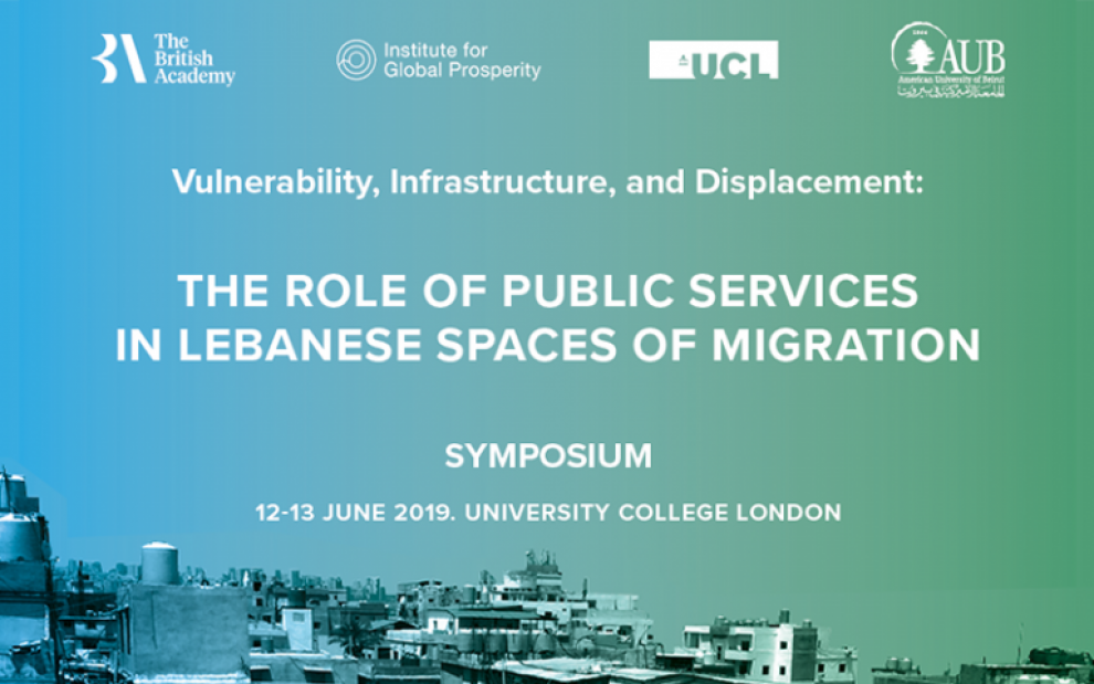 Symposium: Vulnerability, Infrastructure and Displacement
