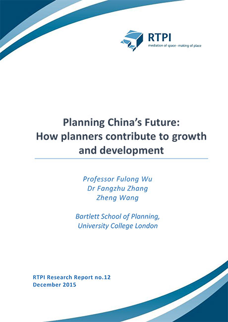 Planning China's future: How planners contribute to growth and development