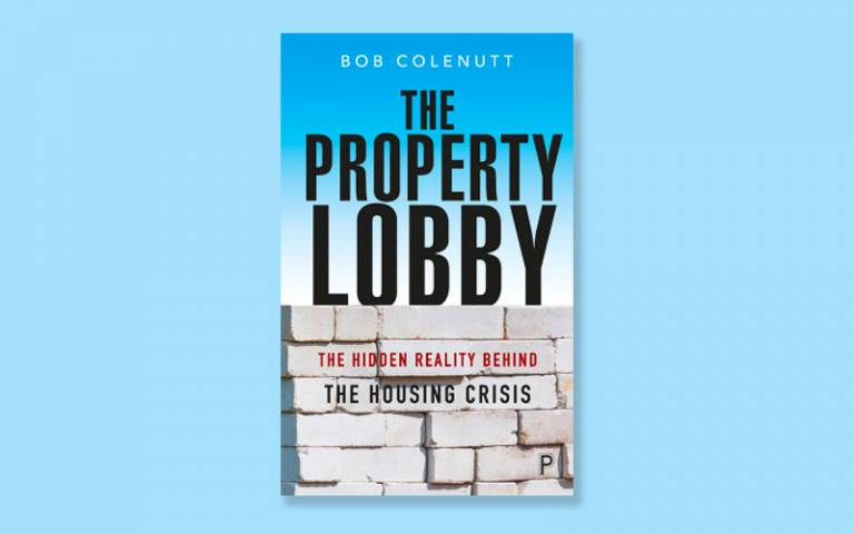 Front cover of Bob Colenutt's book entitled 'The Property Lobby'