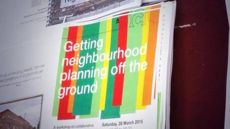 Neighbourhood Planning Workshop Banner