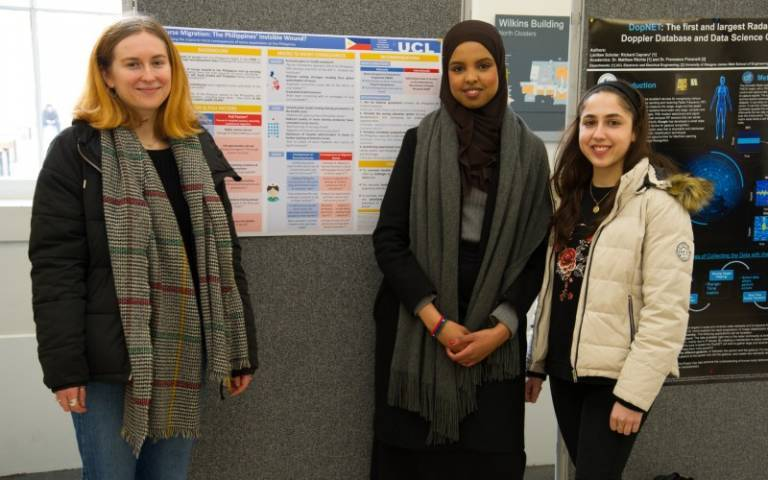 UCL posters in cloisters winners 2020