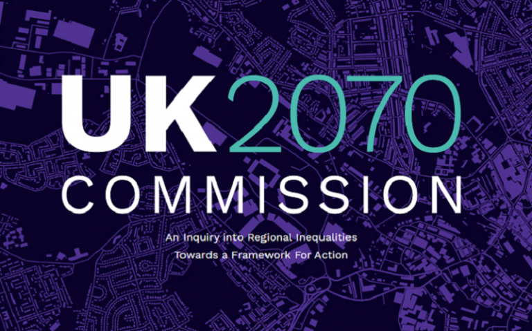 UK2070 Commission Logo