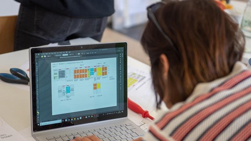BSP Expo laptop