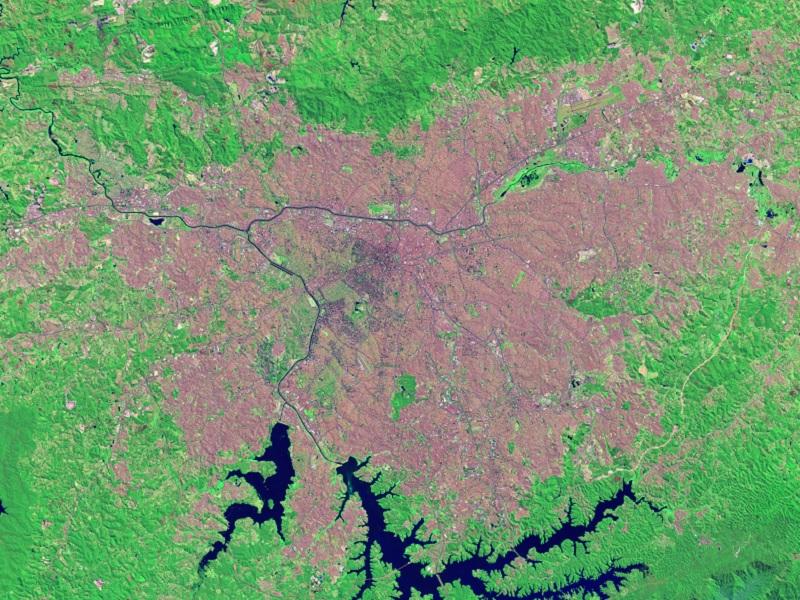 Earth Observatory Sao Paulo