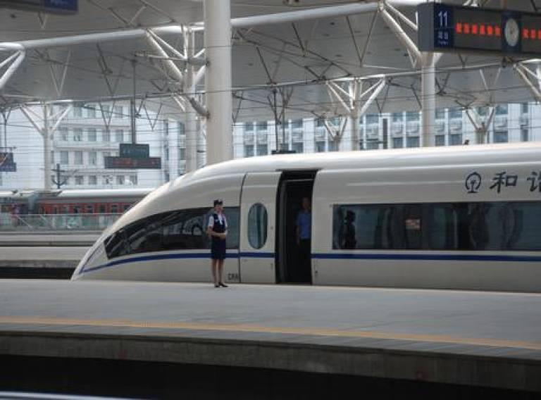 China's intermodal hub
