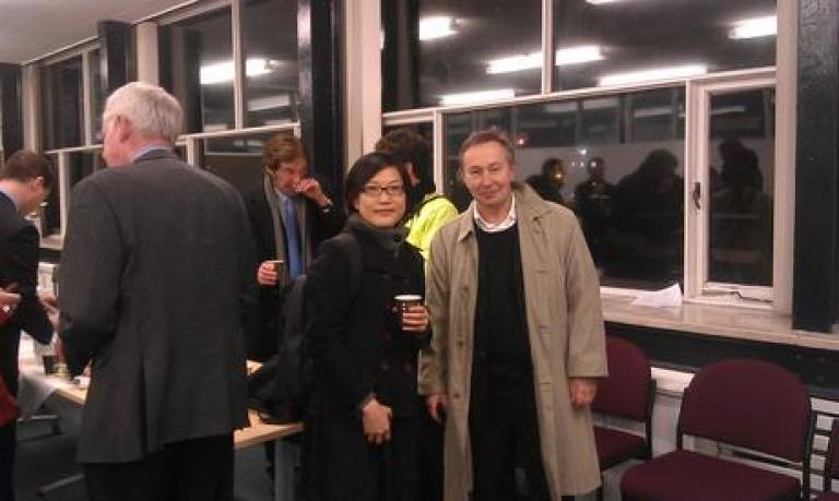 Hebbert and Chen at French and British Planning Studies Group