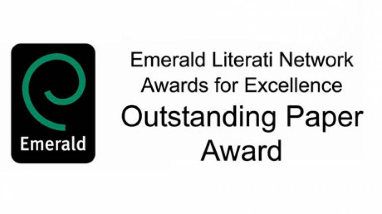Emerald Literati Network Awards for Excellence