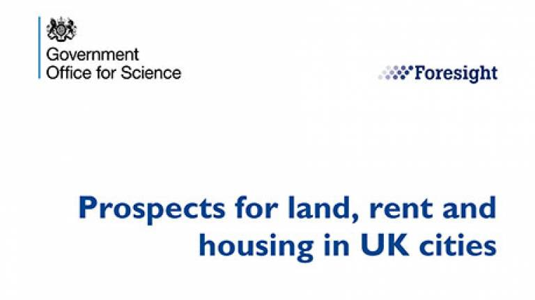 Prospects for Land, Rent and Housing in UK Cities