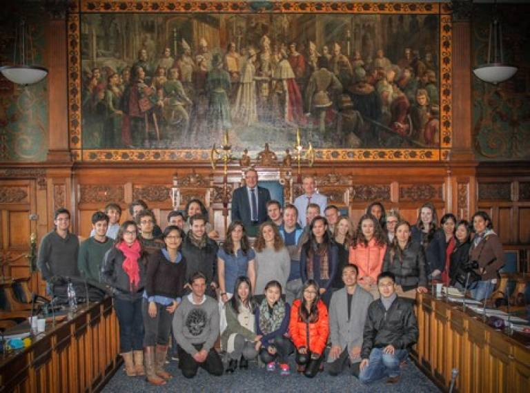 BSP students explore south Blackpool regeneration