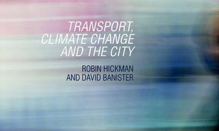 Hickman - Transport, Climate Change and the City