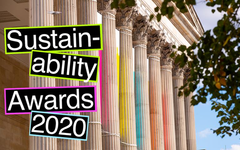 Sustainabiity awards portico columns